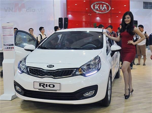 Kia Rio.