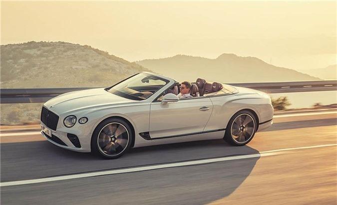 Bentley Continental GT Convertible.