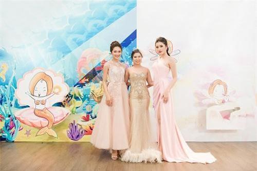 Doanh nhân Trâm Tạ, Á hậu Huyền My và Hoa hậu Ảnh Nguyễn Ngọc Nữ tại Tram's Wonderland
