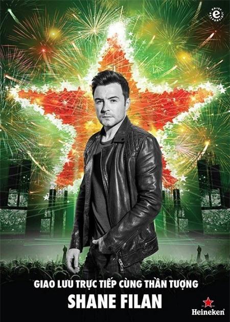 Shane Filan (Westlife) sẽ đến với sân khấu của Heineken Countdown Party 2019 (Nguồn:Veba)
