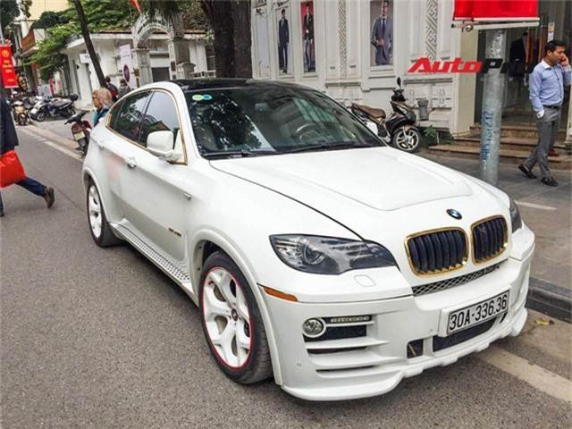 BMW X6 biển lặp