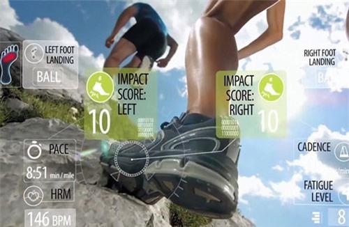 Samsung có thể trình làng giầy thể thao được tích hợp nhiều chức năng thông minh tại Triển lãm Điện tử tiêu dùng CES 2019.