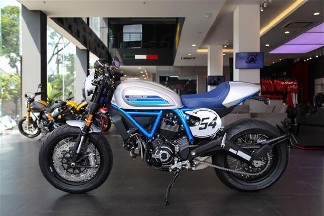Ducati Scrambler Cafe Racer 2019 về Việt Nam, giá 400 triệu đồng. Phiên bản Cafe Racer của Scrambler được phát triển trên nền tảng chiếc Ducati Scrambler 1100 với nhiều công nghệ hơn và giá bán 400 triệu đồng. (CHI TIẾT)