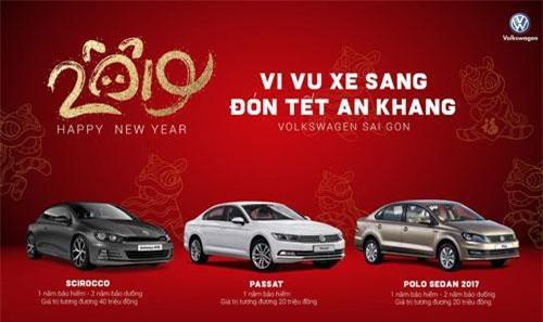 Ưu đãi cho khách hàng mua xe Polo, Scirocco và Passat.