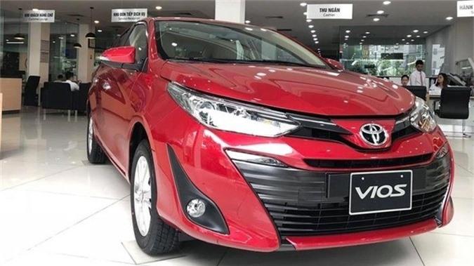 Toyota Vios có doanh số cao nhất Việt Nam.