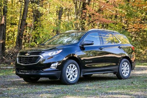 4. Chevrolet Equinox (doanh số: 332.618 chiếc).
