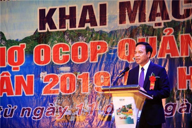 Ông Đặng Huy Hậu, Phó Chủ tịch Thường trực UBND tỉnh Quảng Ninh – kiêm Trưởng Ban chỉ đạo OCOP tỉnh Quảng Ninh,