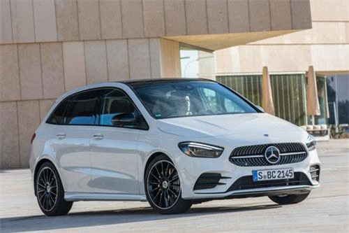 5. Mercedes-Benz B 200 2019.