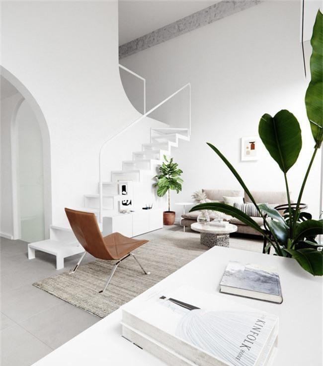 Căn hộ với sự kết hợp hoàn hảo giữa màu xanh của lá và màu trắng của phong cách Scandinavian - Ảnh 2.