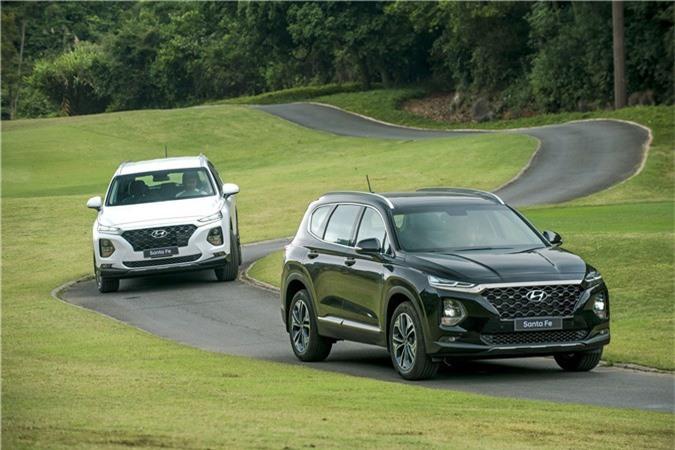 Hyundai Santa Fe 2019, Hyundai Santa Fe 2019 ra mắt, Hyundai Santa Fe 2019 chính thức ra mắt,
