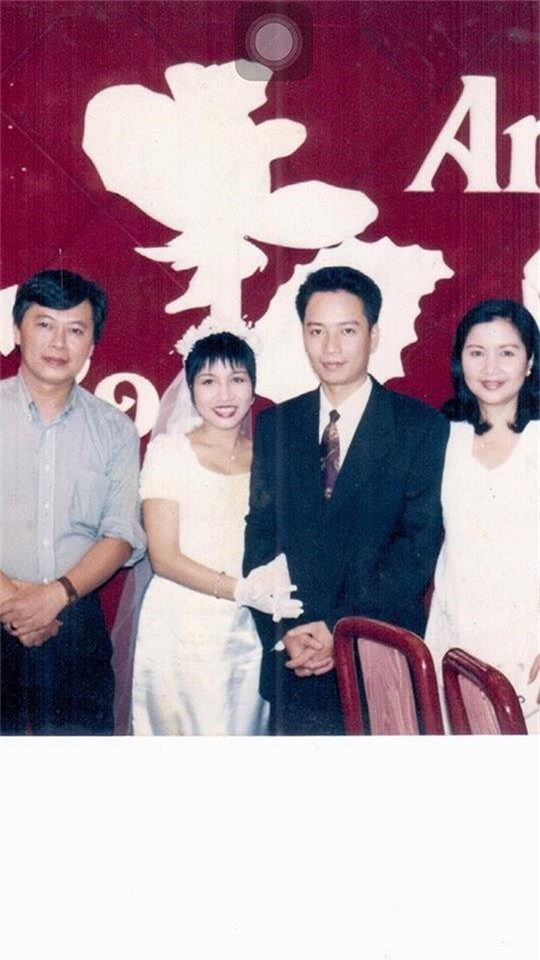Mỹ Linh chia sẻ ảnh cưới cách đây 21 năm gây 'sốt' - ảnh 1