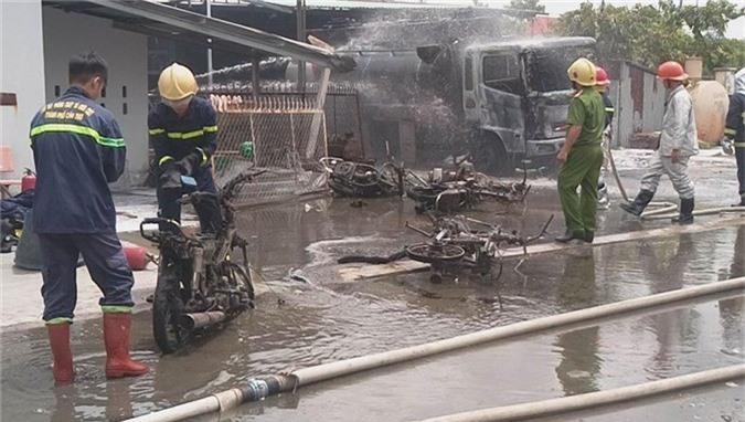 """Trạm xăng dầu từng xảy ra cháy phải ngưng hoạt động vì bán lụi"""" - Ảnh 1."""