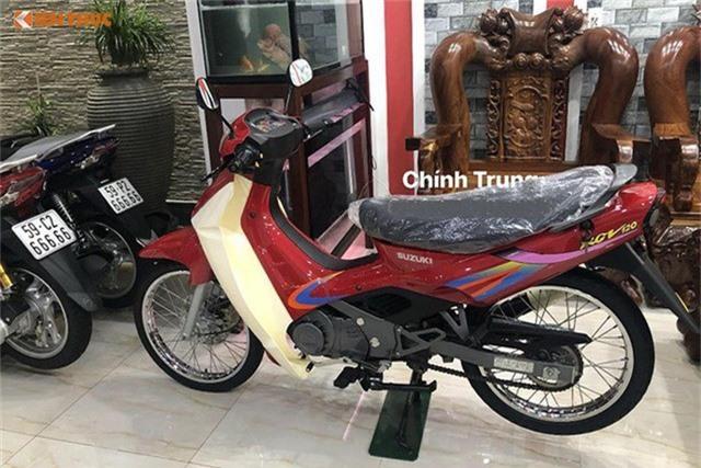 Xe máy Suzuki 17 năm vẫn còn zin: Giá huyền thoại 1 tỷ đồng - Ảnh 4.