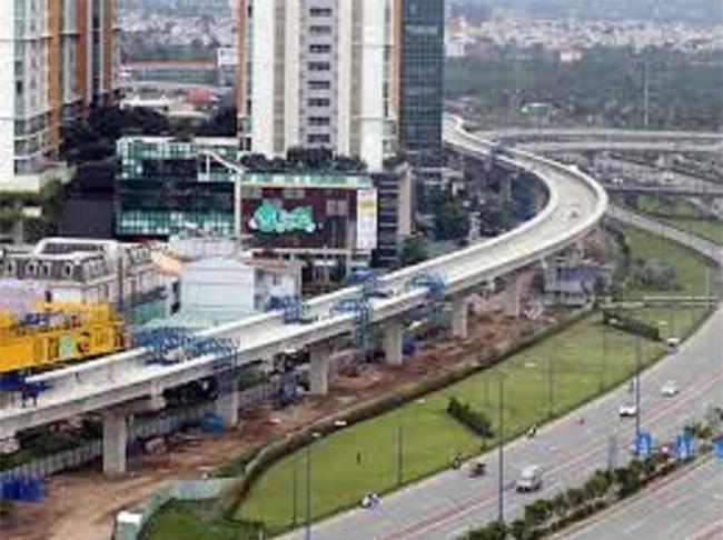 Tuyến metro số 1 vừa đội vốn, vừa chậm tiến độ