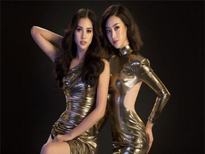 'Toát mồ hôi' xem Hoa hậu Mỹ Linh - Tiểu Vy đọ nóng bỏng trong bộ ảnh đại sứ Miss World Việt Nam
