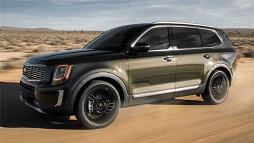 SUV cỡ lớn Kia Telluride 2020 chính thức lộ diện