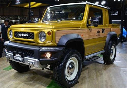 Ngắm xe bán tải Suzuki Jimny Sierra