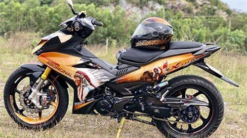 Cận cảnh Yamaha Exciter 150 độ theo phong cách 'thổ dân' cực ngầu