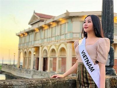 Ngân Anh được các thí sinh Hoa hậu Liên lục địa tổ chức sinh nhật