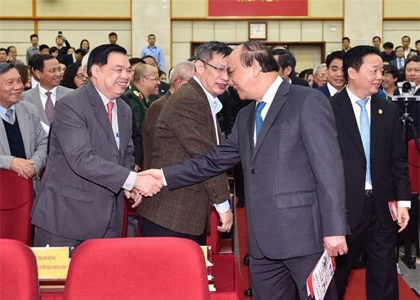 Thủ tướng và các đại biểu dự Hội nghị. (Ảnh: VGP)