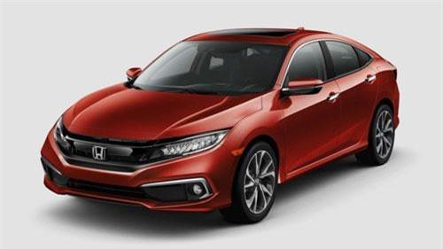 Ảnh chi tiết Honda Civic Sedan và Coupe 2019