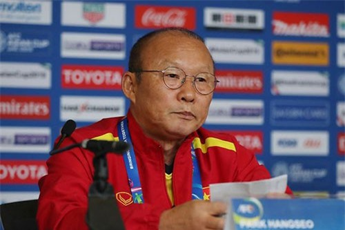 """HLV Park Hang Seo: """"Việt Nam có thể hy vọng khi gặp Jordan"""""""