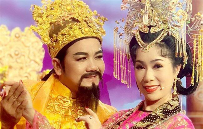 """Táo Quân miền Nam: Hé lộ tạo hình lộng lẫy của """"Thiên Hậu"""" Trịnh Kim Chi"""