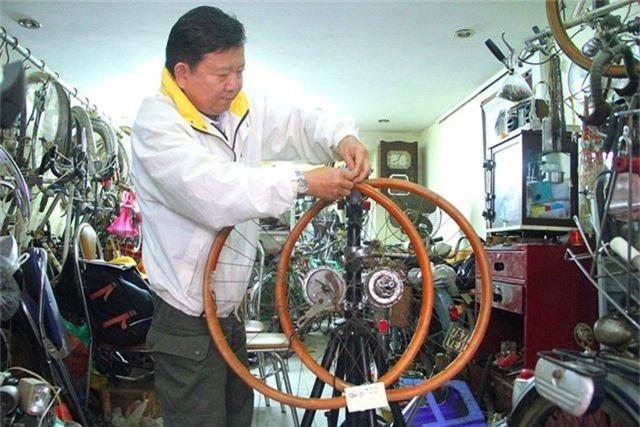 Đại gia Hà thành bán xe đạp cổ mua nhà mặt phố - 12