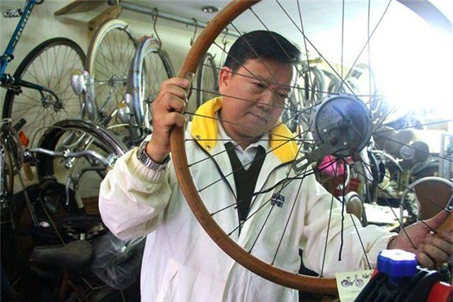 Đại gia Hà thành bán xe đạp cổ mua nhà mặt phố - 16