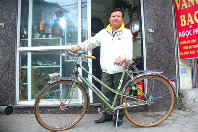 Đại gia Hà thành bán xe đạp cổ mua nhà mặt phố - 3