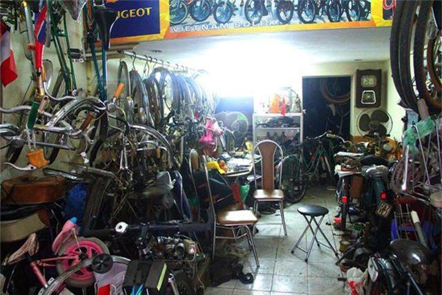 Đại gia Hà thành bán xe đạp cổ mua nhà mặt phố - 6