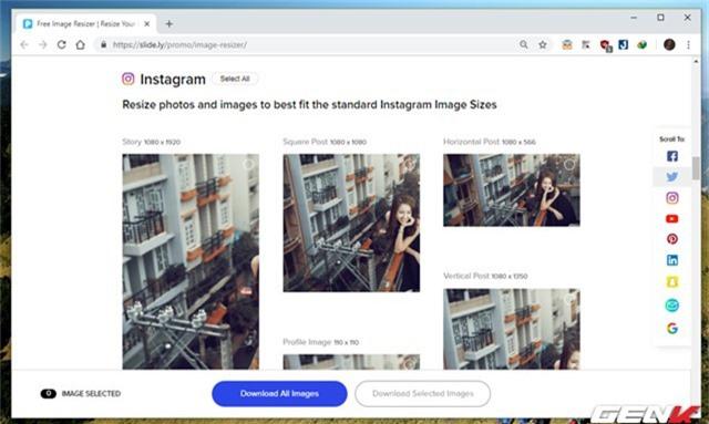 Hướng dẫn cách giúp tạo nhanh ảnh bìa cho Facebook, Twitter, YouTube,… với kích thước chuẩn - Ảnh 5.