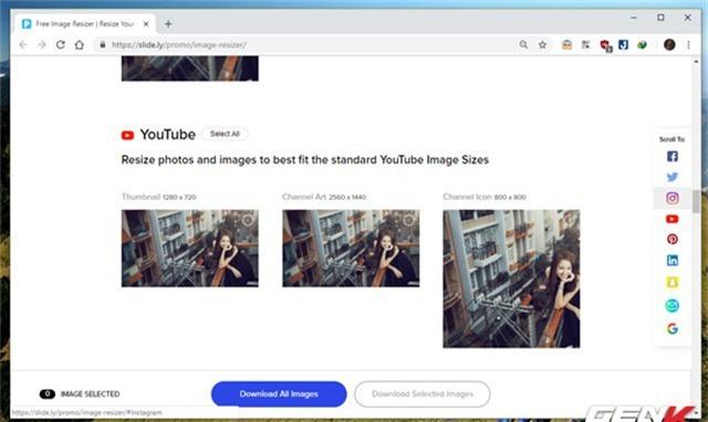 Hướng dẫn cách giúp tạo nhanh ảnh bìa cho Facebook, Twitter, YouTube,… với kích thước chuẩn - Ảnh 6.