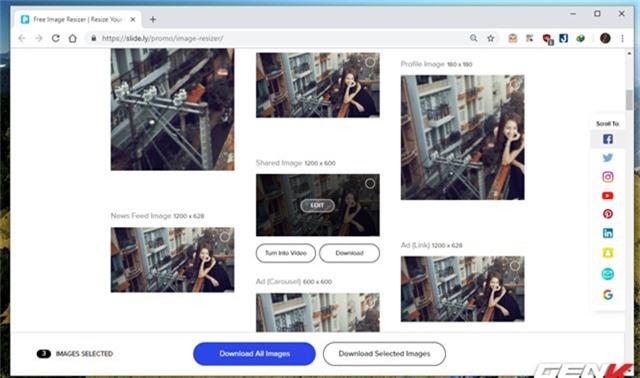 Hướng dẫn cách giúp tạo nhanh ảnh bìa cho Facebook, Twitter, YouTube,… với kích thước chuẩn - Ảnh 8.
