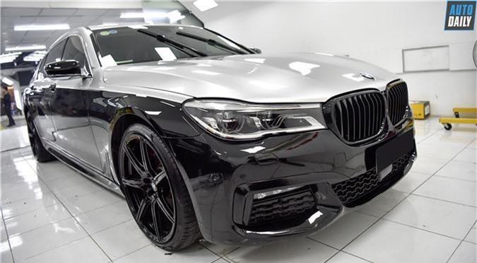 BMW 740Li.