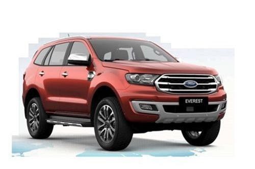 Ford Everest 2018.