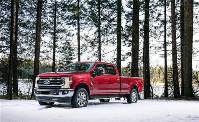 Chi tiết Ford F-Series Super Duty 2020 mạnh mẽ hơn với động cơ V8 mới. Điểm nhấn của dòng xe bán tải hạng nặng Ford F-Series Super Duty 2020 là động cơ V8 7.3L mới đi kèm với hộp số tự động 10 cấp. (CHI TIẾT)