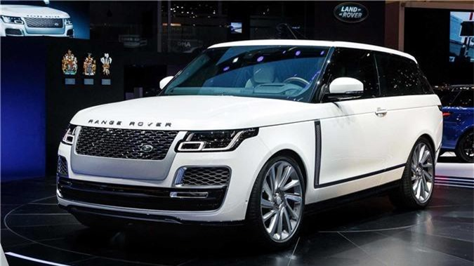 Range Rover SV Coupé.