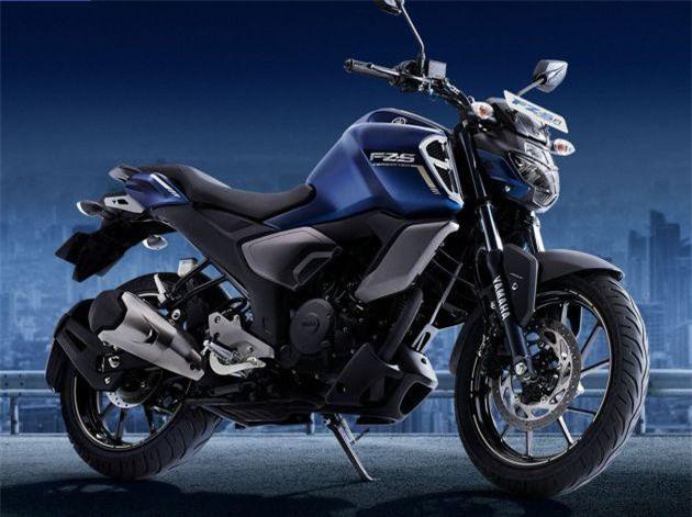 2019 Yamaha FZS-FI.