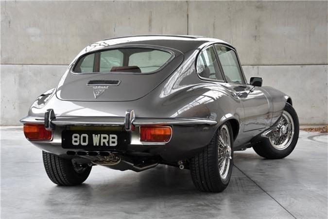Thiết kế đuôi xe Jaguar E-Type 3 2+2