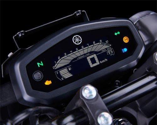 Cụm đồng hồ LCD.