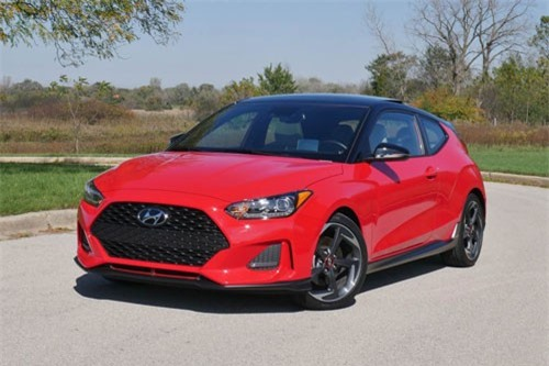 10. Hyundai Veloster Turbo Ultimate 2019.