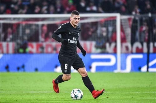 Tiền vệ trung tâm: Marco Verratti (Paris Saint-Germain).