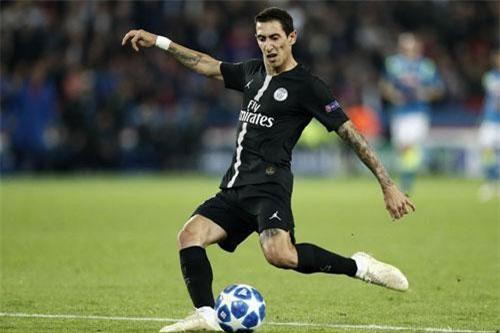 Tiền vệ tấn công: Angel Di Maria (Paris Saint-Germain).