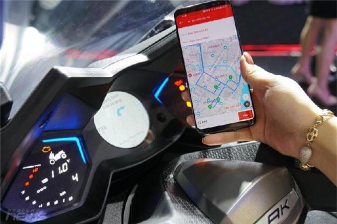 Hệ thống Noodoe có thể kết nối với điện thoại thông minh.
