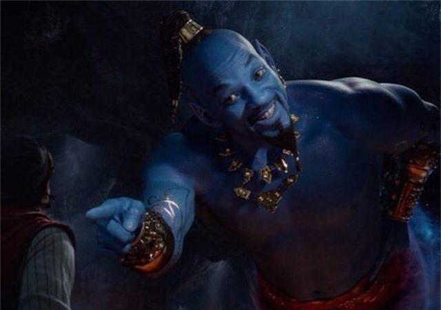 """Disney hé lộ """"Thần đèn"""" Will Smith trong """"Aladdin 2019"""" - 1"""