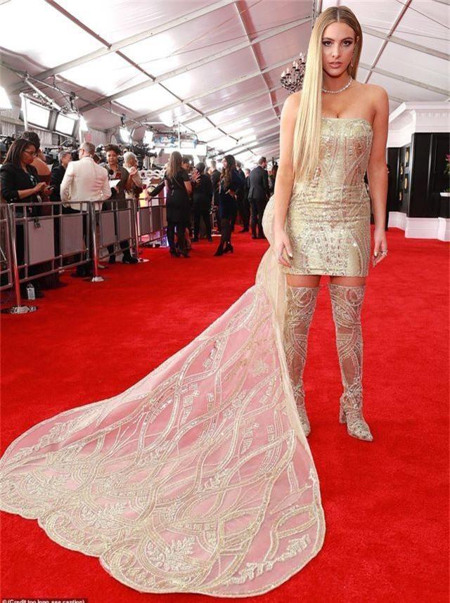 Những bộ váy xấu nhất trên thảm đỏ Grammy 2019 - 14