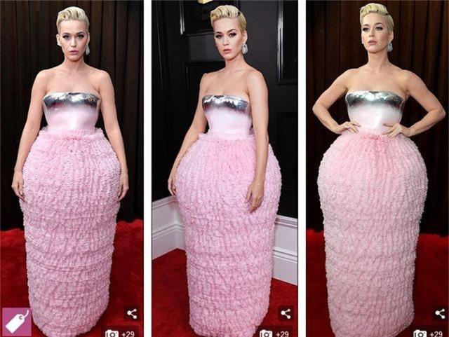 Những bộ váy xấu nhất trên thảm đỏ Grammy 2019 - 7
