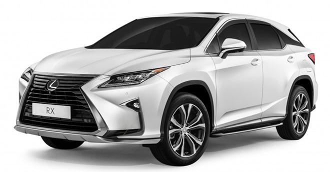 Bảng giá Lexus tháng 2/2019. Thương hiệu Lexus do Toyota nắm quyền phân phối tại Việt Nam, với các mẫu xe được nhập khẩu nguyên chiếc, bao gồm 3 mẫu sedan, 5 mẫu SUV và một mẫu xe thể thao hai cửa. (CHI TIẾT)