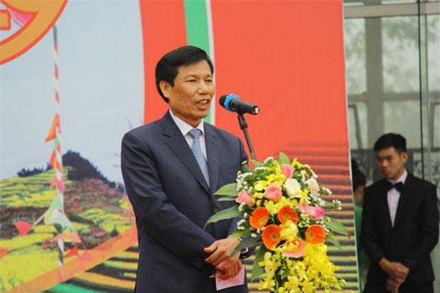 Bộ trưởng Nguyễn Ngọc Thiện phát biểu khai mạc ngày hội